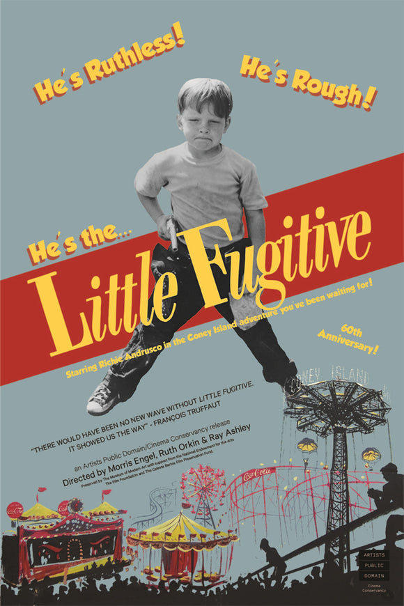 Little Fugitive 60th Anniversary Poster - ImageExchange