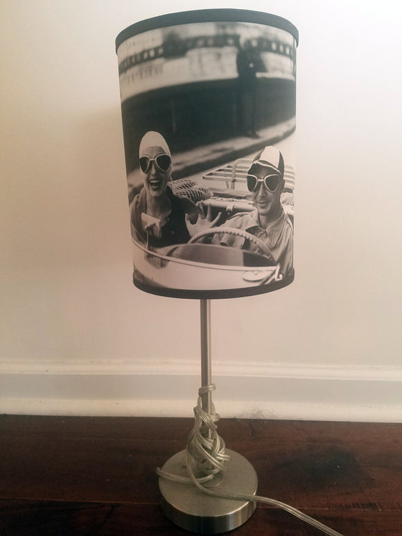 Couple in MG, Florence, 1951  Table Lamp - ImageExchange