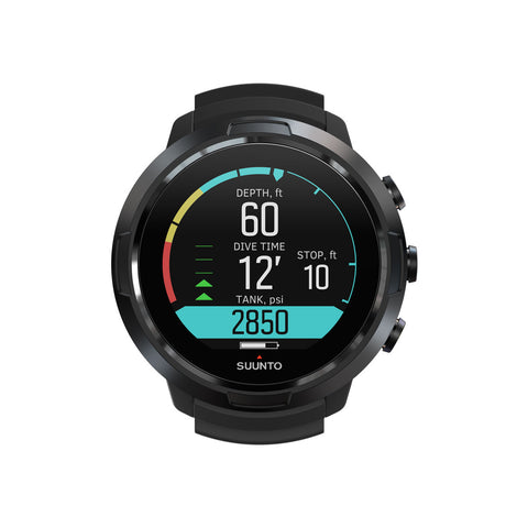 Suunto SUUNTO D5 ALL BLACK WITH USB CABLE