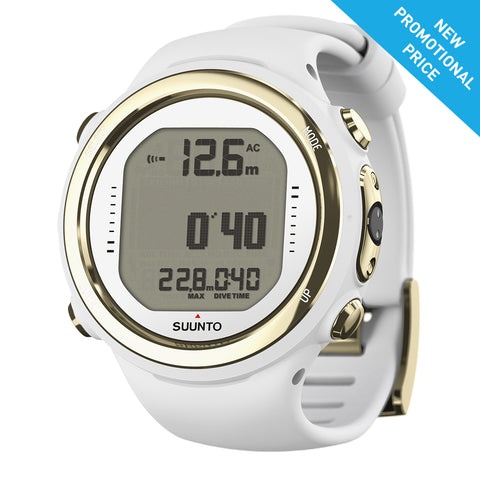 Suunto D4I NOVO LIGHT GOLD WITH USB