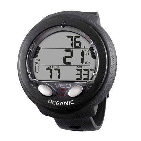 Oceanic VEO 4.0  WRIST, BLACK, METRIC