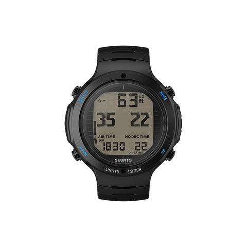 Suunto D6i NOVO ALL BLACK STEEL LIMITED EDITION W/USB