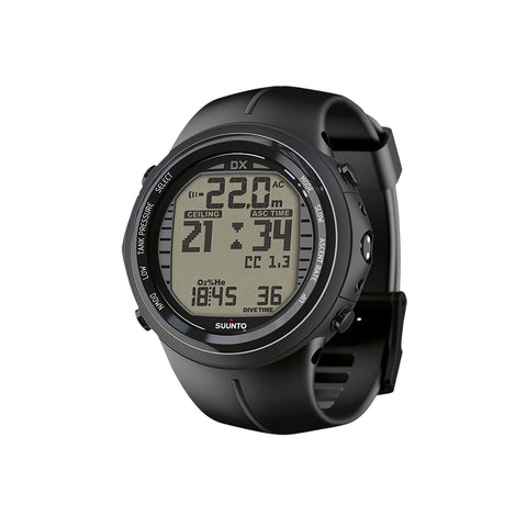 Suunto DX BLACK ELASTOMER WITH USB