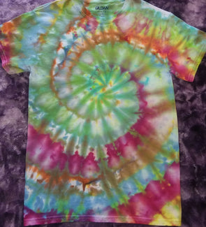 Vibrant Ice Tie Dyed Swirl T-Shirt