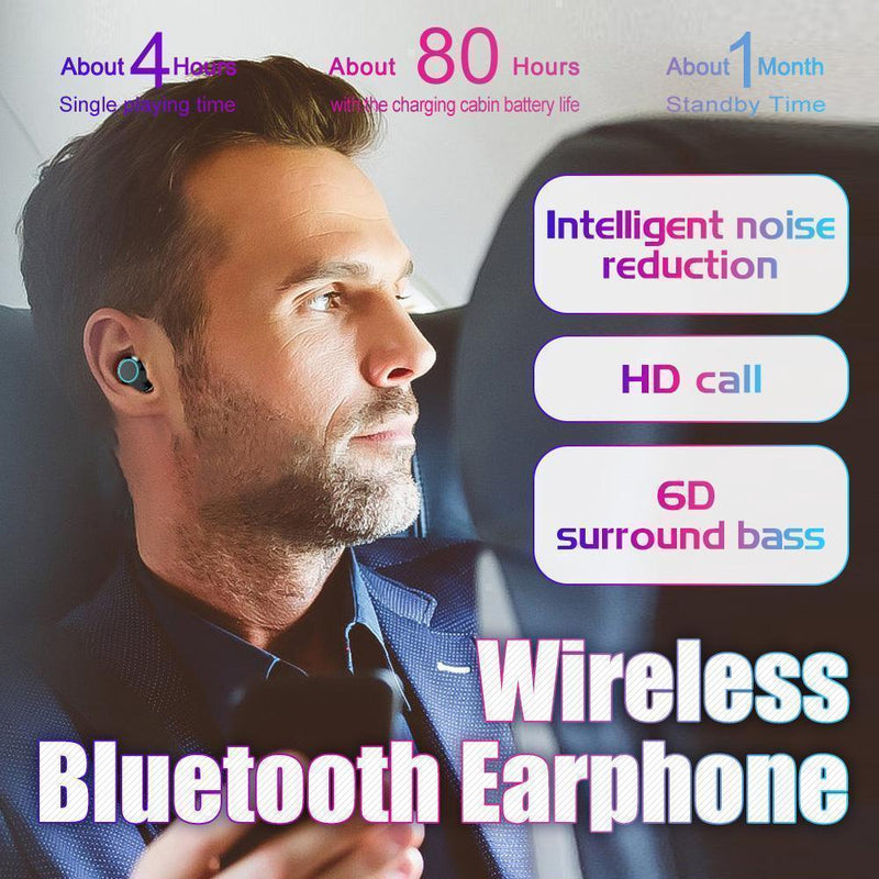 Waterproof Wireless Bluetooth Earphone