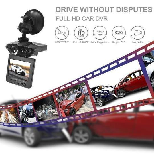 Driving Recorder(HD & Wide Angle)