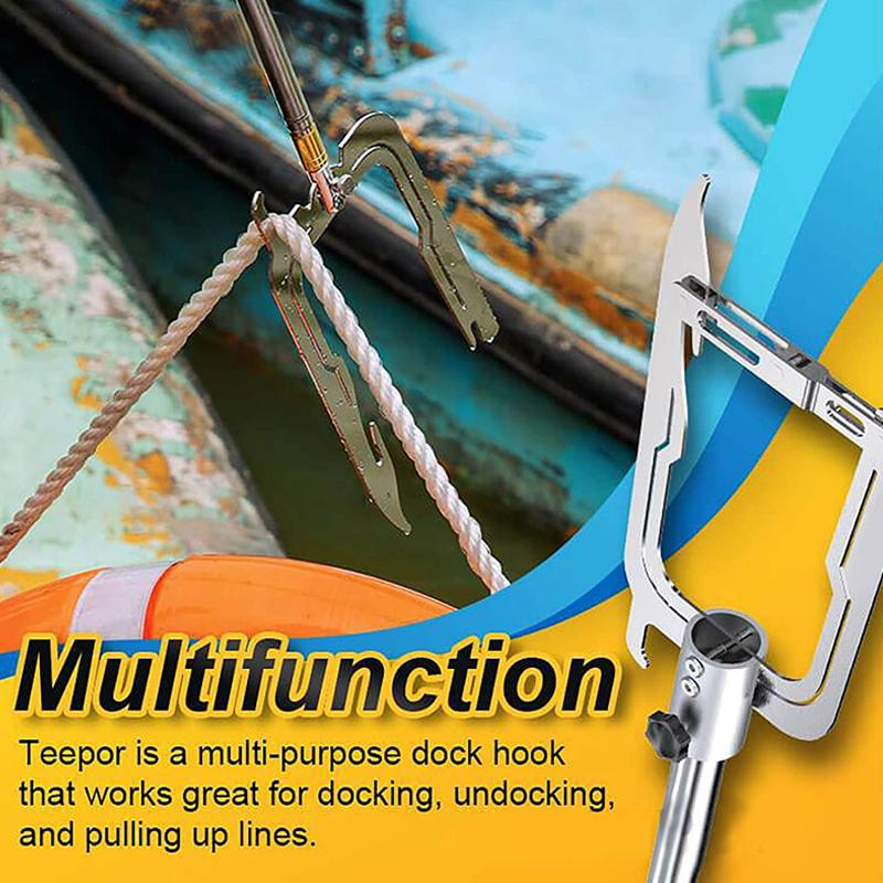 Multifunctional Dock Hook