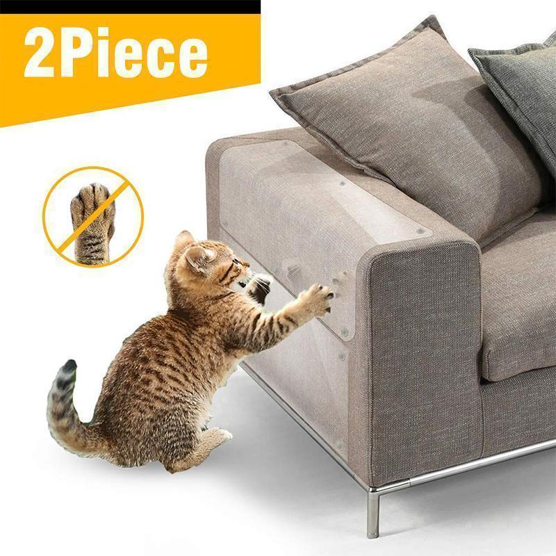 Cats Scratch-Resistant Furniture Protection Tape (2 Pieces)
