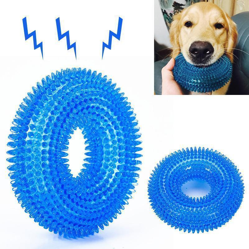 Biting Dog Toy Vocal Ball