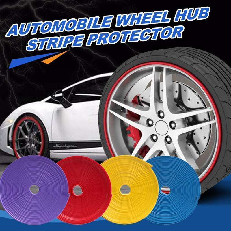 Automobile Wheel Hub Stripe Protector