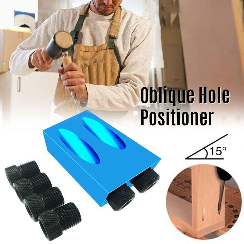 Woodworking tool puncher positioner
