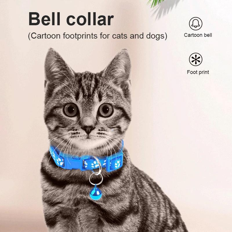 Adjustable Pet Collar with Jingle Bell