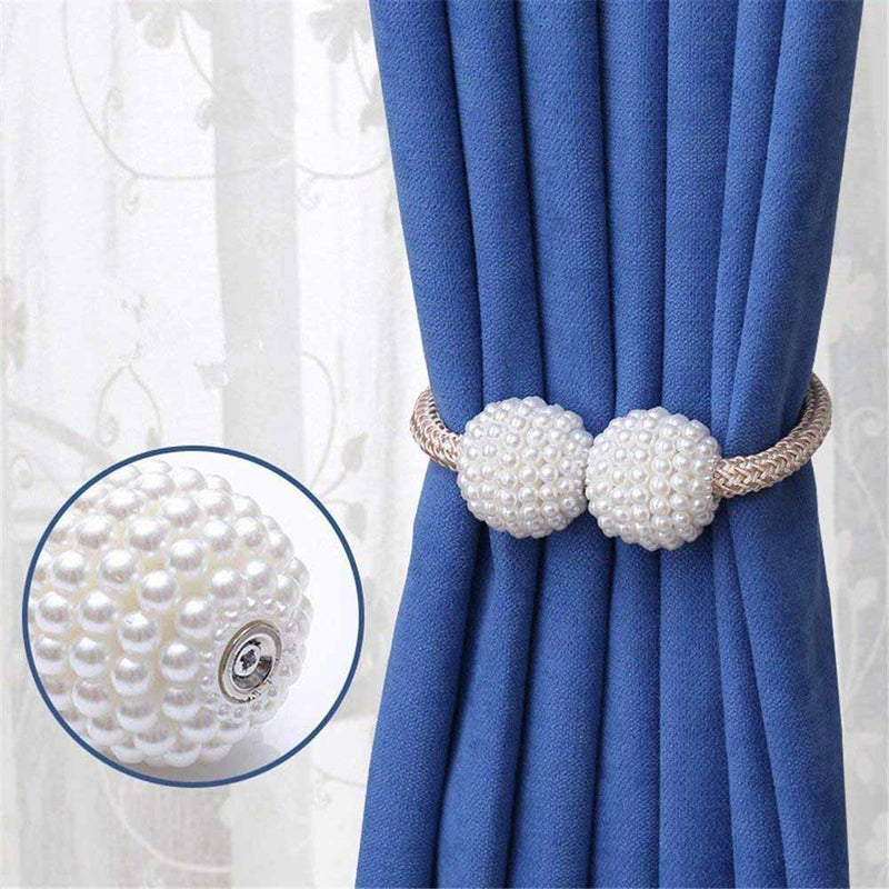 Magnetic Curtain Tiebacks, 2pcs