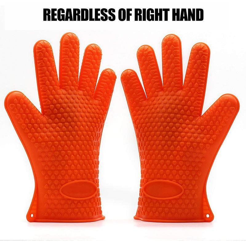 Bequee Heat-resistant Silicone Gloves