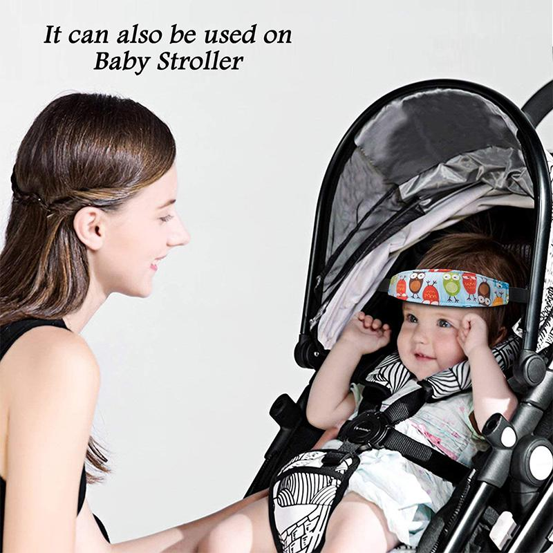 Baby Car Seat Neck Relief and Head Support