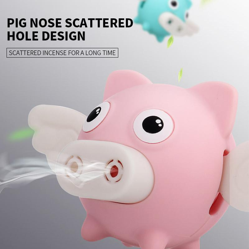 Flying Pig Car Vent Perfume