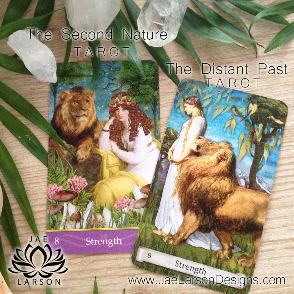 The Distant Past Tarot vs The Second Nature Tarot