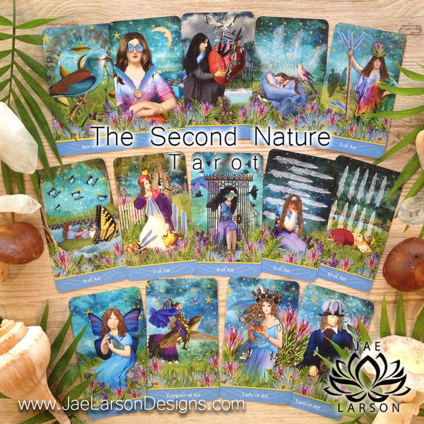 The Second Nature Tarot- Tarot Size NOW AVAILABLE!