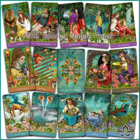 The Second Nature Tarot- COMING SOON!