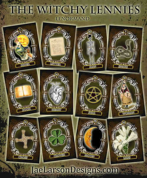 The Witchy Lennies Lenormand Deck