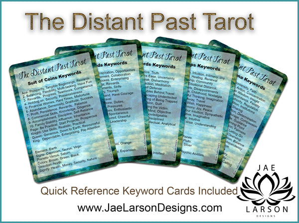 The Distant Past Tarot - POKER SIZE