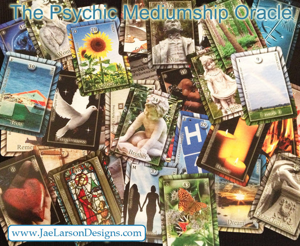 Psychic Mediumship Oracle Card Deck