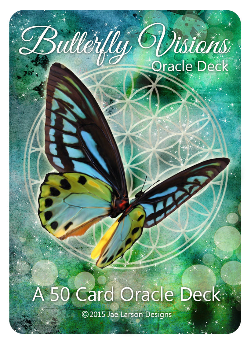 Butterfly Visions Oracle Card Deck