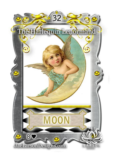 The Harlequin Lenormand Card Deck
