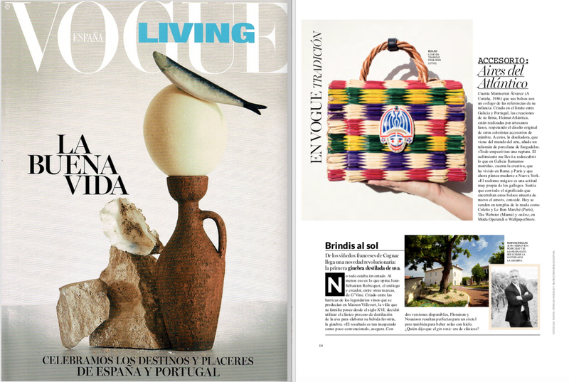 SHELL CHARM STRAW BAG HEIMAT ATLANTICA VOGUE LIVING