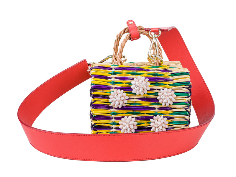 Dori mini red with strap LAST ONE!