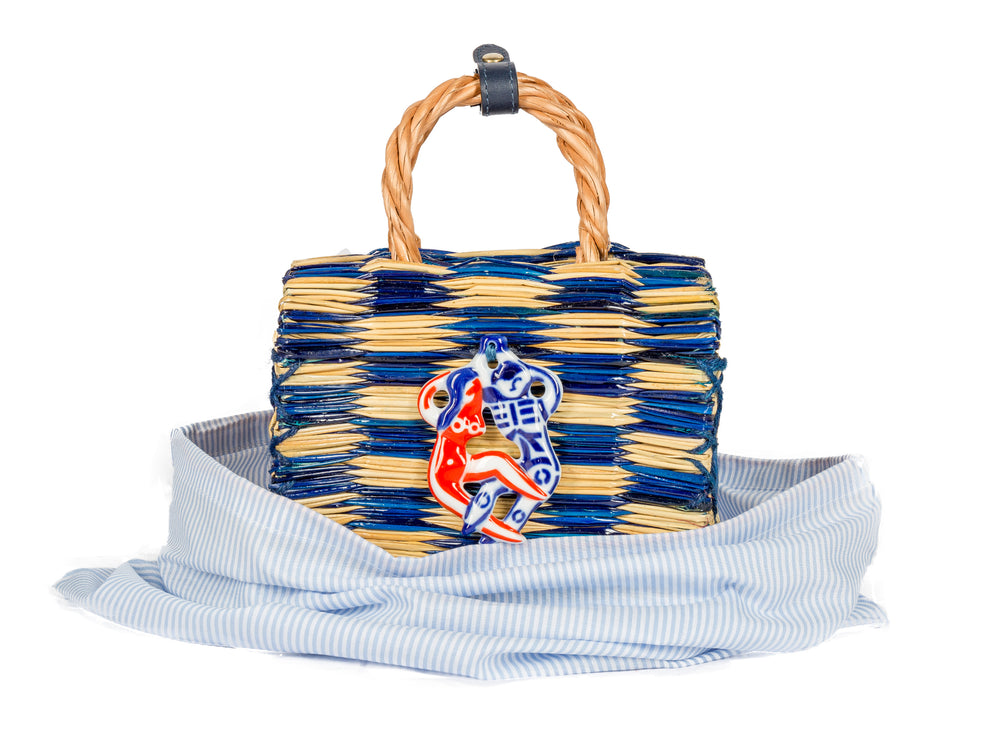 Tom tom blue mini biser -  FIND IT EXCLUSIVELY at MATCHESFASHION.COM