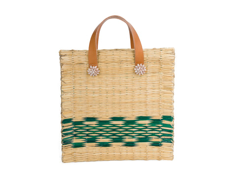Tote Chacha green