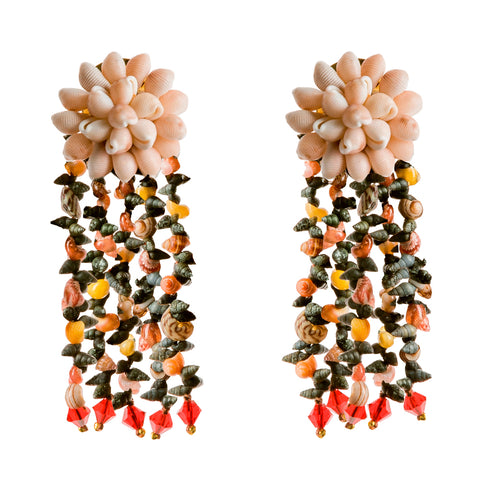 Moraimas earrings in red