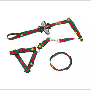 Leash , collar and Harness set