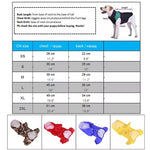 Raincoat Hooded Reflective Waterproof Jacket for  Small Dogs