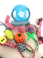 10 Pieces Dog Rope Toys