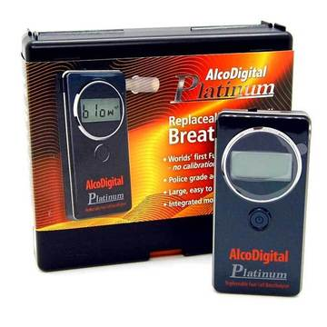 Digital Breathalysers