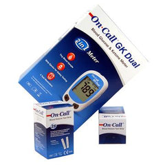 Free on Call GK blood glucose and ketone meter
