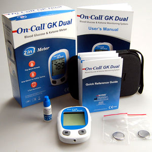 Wholesale On Call GK Dual Blood Glucose and Ketone Meter