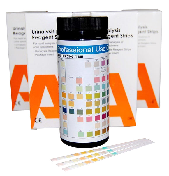 Wholesale 10 parameter urine test strips ALLTEST URS10
