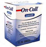 On Call blood lancets 100 sterile lancets