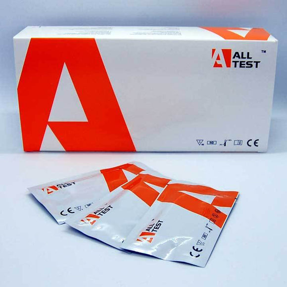 ALLTEST Ultrasensitive Cotinine Urine Test Cassettes