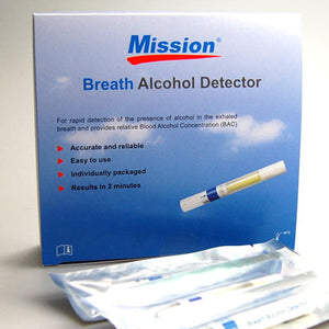 Wholesale MISSION Single Use Disposable Breathalyser Kits