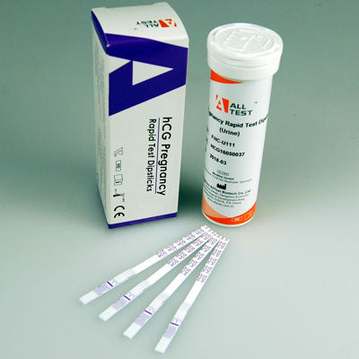 ALLTEST FHC-U111 10mIU Ultra Pregnancy Test Strips