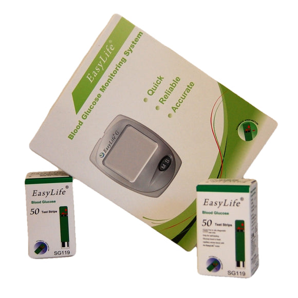 FREE easylife blood glucose meter UK