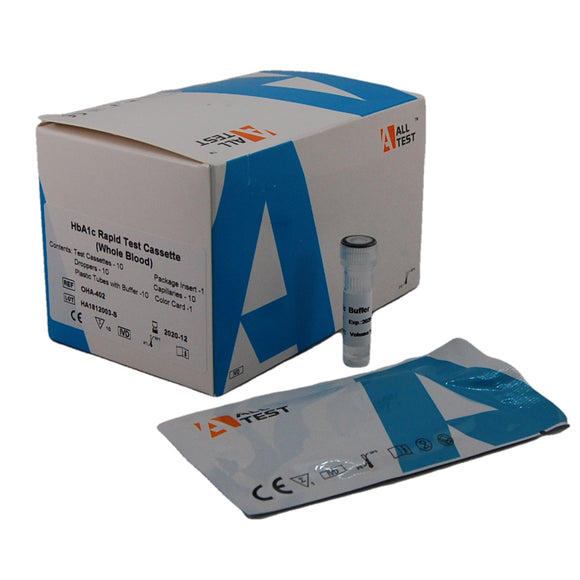 HbA1C diabetic testing kits glycosylated hemoglobin test kit
