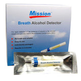 Mission single use alcohol breathalyser kit