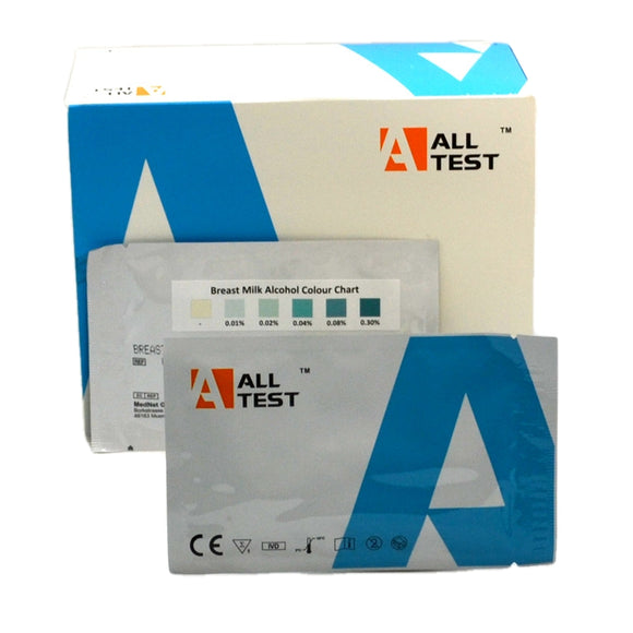 Breast milk alcohol test kit alcohol test strips breastfeeding ALLTEST