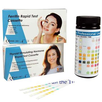 chronic fatigue test tired all the time test kits