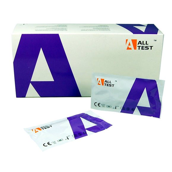 ALLTEST pregnancy test kit cassettes 25miu